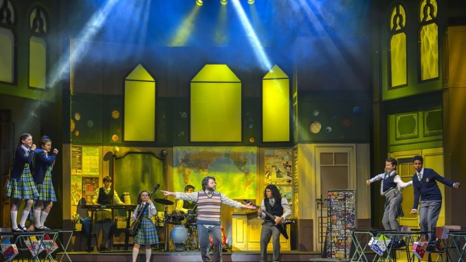 Teatro Lyrick Assisi nuovo musical Massimo Romeo Piparo School of Rock