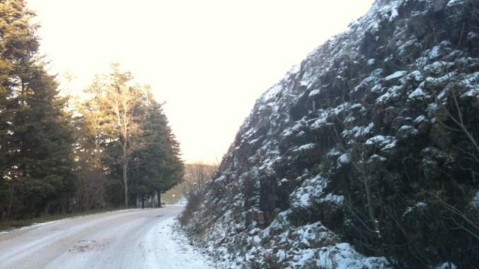 Neve sul monte Subasio, e c'era chi non ci credeva maltempo in Umbria
