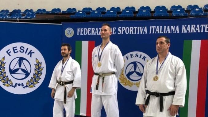 Simone Cipiciani ancora campione italiano di karate a Rimini
