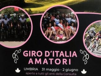 Il giro d'Italia amatori fa tappa ad Assisi, venerdì 31 maggio