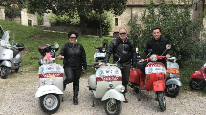 Vespa Club Assisi sempre più attivo, due importanti eventi sportivi nazionali
