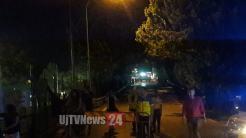 Fuga di gas durante la festa a Petrignano, chiuso il ponte