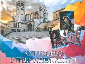 Trofeo Internationalgym di ginnastica campionato italiano di coreografia ad Assisi