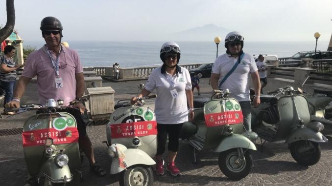 Vespa Club Assisi a Sorrento e Capri per il 70esimo anno del Vespa Club D'Italia