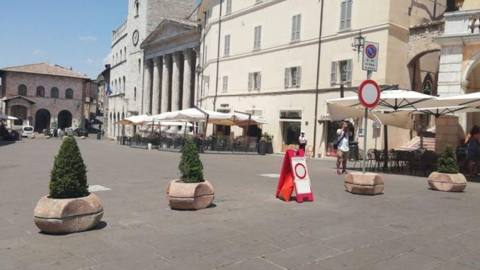 iera San Francesco ad Assisi, modifiche alla viabilità