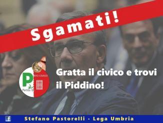Stefano Pastorelli della Lega e le parole di fuoco contro il Pd e i piddini