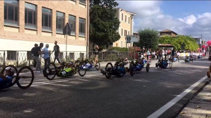 Giro d'Italia di Handbike, i #campionidivita oggi a Santa Maria