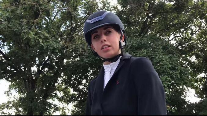 Sara Mattioli di Assisi, medaglia d'oro ai campionati italiani di equitazione