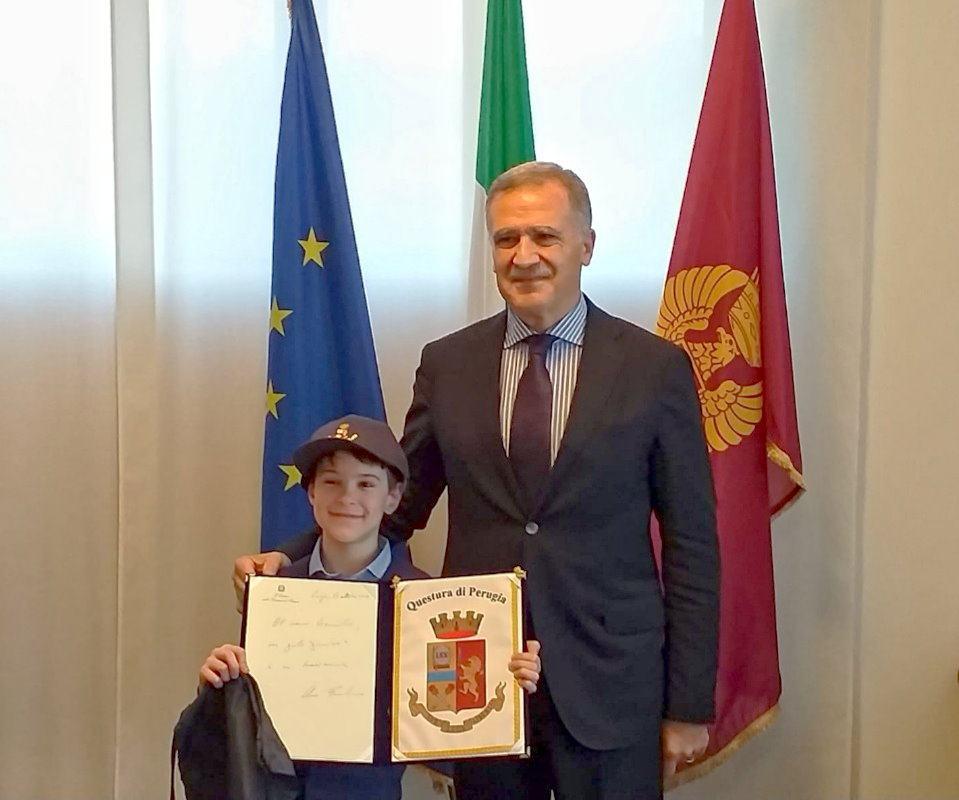 Bimbo di 9 anni di Assisi, Bernardo, messaggio per agenti uccisi