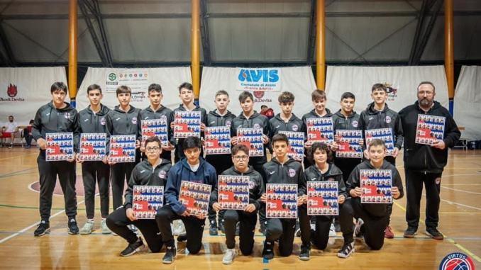 Virtus Assisi Under 15 inserita nel girone Umbria-Marche di Eccellenza