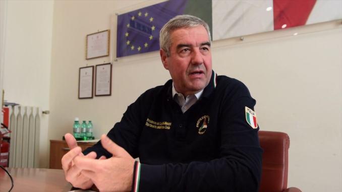 Angelo Borrelli ad Assisi, premierà la Protezione civile della Città