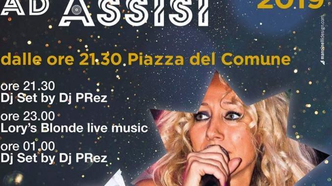 Capodanno ad Assisi, festa in piazza con Lory's Blonde Band e Dj Prez