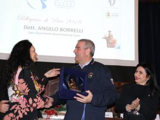 Protezione Civile, Angelo Borrelli è pellegrino di Pace