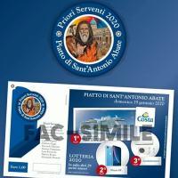 Lotteria del Piatto di Sant'Antonio 2020 ancora disponibili i biglietti