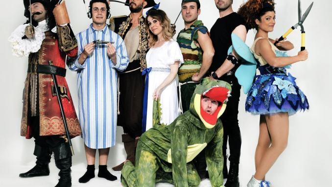 Che Disastro di Peter Pan, il 15 febbraio al Teatro Lyrick