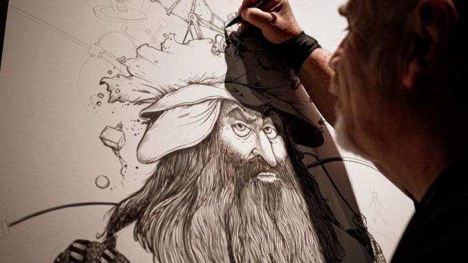 Il mondo dei fumetti alle stanze delle meraviglie ad Assisi
