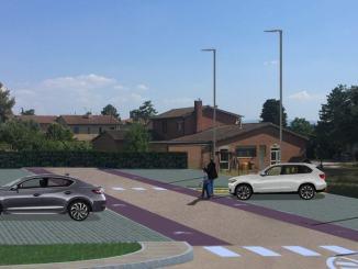 I progettiper i parcheggi a Petrignano,Rivotorto e Palazzo