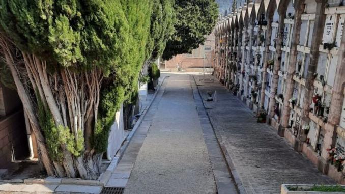 Riaprono i cancelli dei 13 cimiteri di Assisi, lunedì 4 maggio comincia fase 2