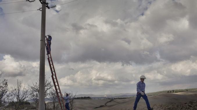 Enel attiva nuova cabina zona industriale Colussi Torchiagina
