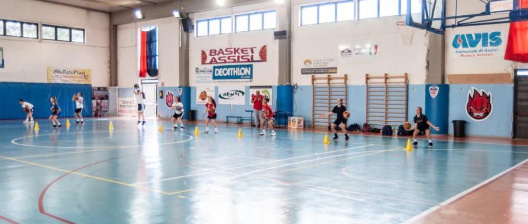 Basket, prosegue a gonfie vele l'attività dei giovani della Virtus Assisi