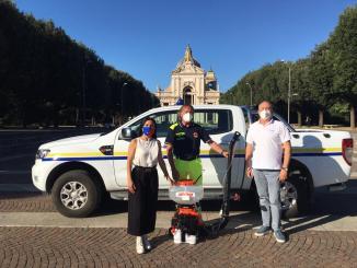 Atomizzatore dall'azienda Cormik alla Protezione civile di Assisi