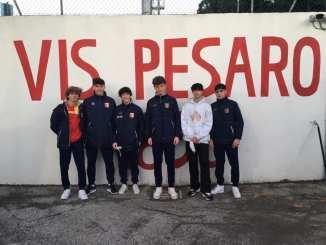 Calcio: per sei ragazzi dell'Angelana test con la primavera della Vis Pesaro
