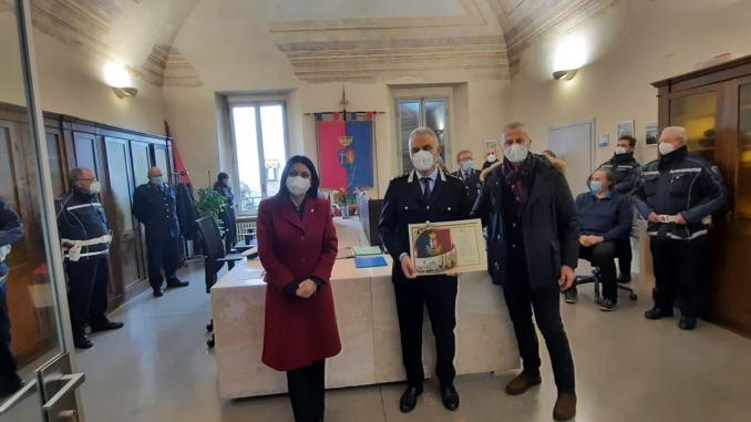 Comune di Assisi ringrazia le Forze dell'Ordine, 256 attestati