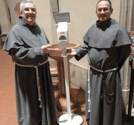 Rivotorto alla parrocchia fedeli potranno farsi segno croce acqua benedetta