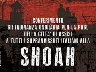 Assisi conferisce cittadinanza onoraria ai sopravvissuti italiani alla Shoah