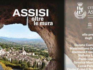 """12 giugno presentazione libro """"Assisi oltre le mura"""" voluto da Donatella Casciarri"""
