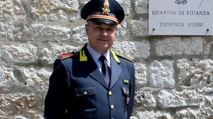 Luogotenente Ferrara nuovo comandante Finanza Assisi