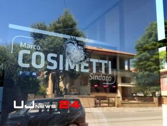 Sparo e vandalismo alla sede politica di Marco Cosimetti, ma è falso allarme