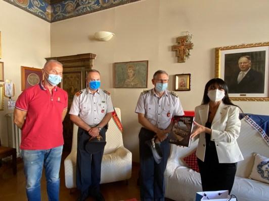 Finanza, generale Benedetto Lipari in visita in comune