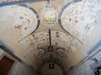 Assisi, Francesco Mignani su la Volta Pinta in Piazza del Comune