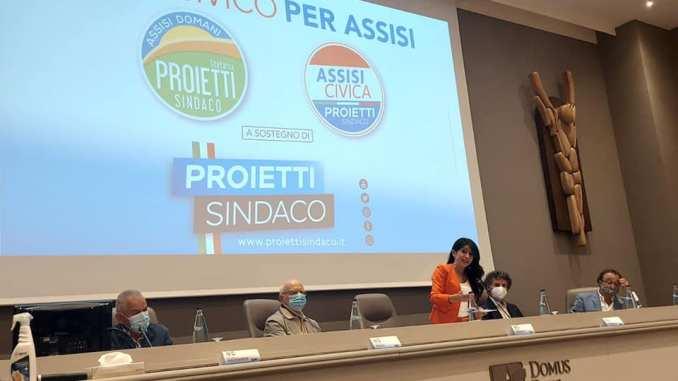 Assisi domani e Assisi civica a sostegno della ricandidatura di Proietti
