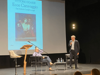 Vittorio Sgarbi Domus Pacis lectio magistralis Ecce Caravaggio da Longhi