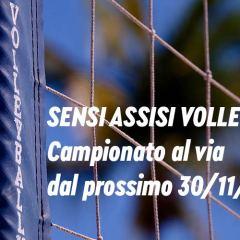 Calendario Sensi Assisi Volley – Campionato al via, il 30 novembre