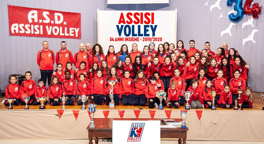 34 anni di A.S.D. Assisi Volley