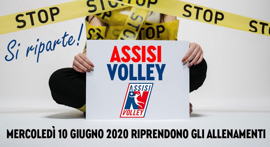 Assisi Volley riparte in sicurezza!