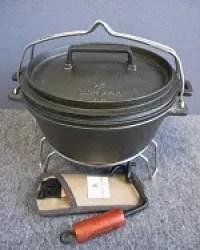スノーピーク 和鉄ダッチオーブン
