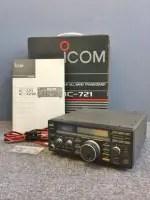 ICOM アイコム HFトランシーバー 無線機 IC-721 動作品