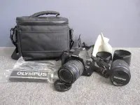 OLYMPUS E-620 デジタル一眼レフカメラ 14-42mm 40-150mm レンズ