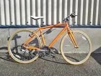 ライトウェイ シェファードシティ クロスバイク C-T510 オレンジ