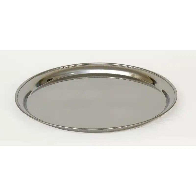 plat rond creux 35 cm inox assistance