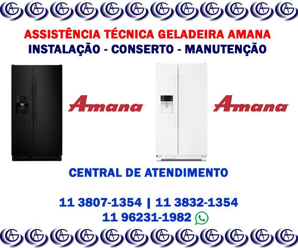 Assistência técnica geladeira Amana