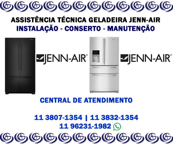 Assistência técnica geladeira Jenn Air