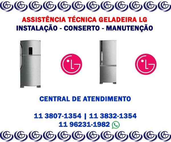 Assistência técnica geladeira LG