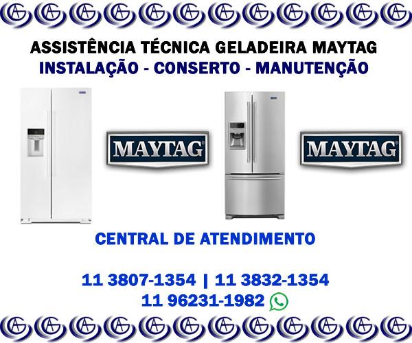 Assistência técnica geladeira Maytag