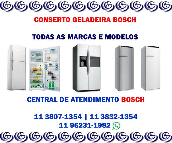 Conserto geladeira Bosch