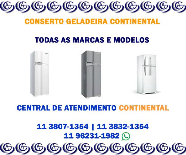 Conserto geladeira Continental